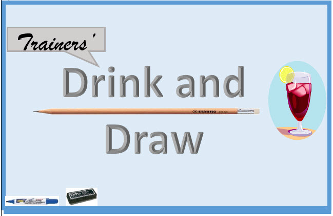 Trainers' Drink and Draw